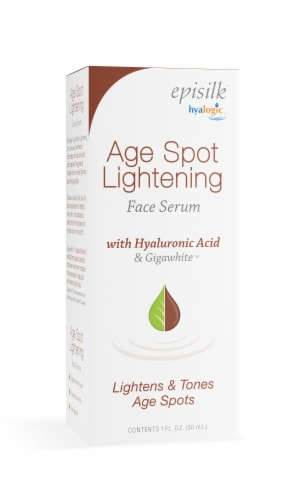 Age Spot Lightening Face Serum with Hyaluronic Acid Perspective: top