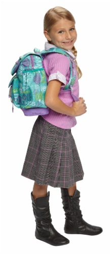 Bixbee Large Hope Peace Love Backpack Perspective: top