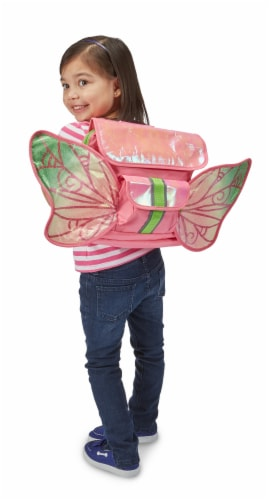 Bixbee Small LED Fairy Flyer Backpack Perspective: top