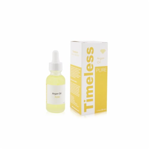Timeless Skin Care Pure Argan Oil 30ml/1oz Perspective: top