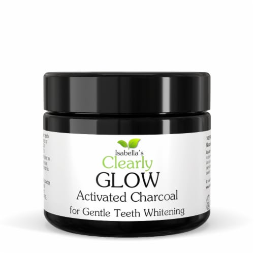 Clearly GLOW Kit, Activated Charcoal + Toothbrush + Tongue Scraper Kit Perspective: top