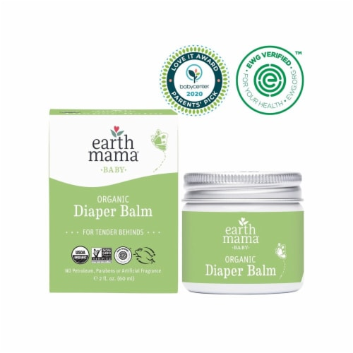 Earth Mama Baby Organic Diaper Balm Perspective: top