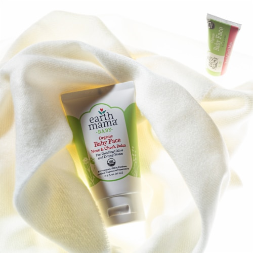 Earth Mama Baby Organic Baby Face Nose & Cheek Balm Perspective: top