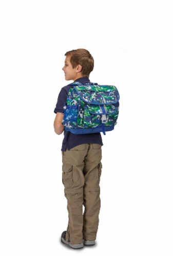Bixbee Medium Soccer Star Backpack Perspective: top