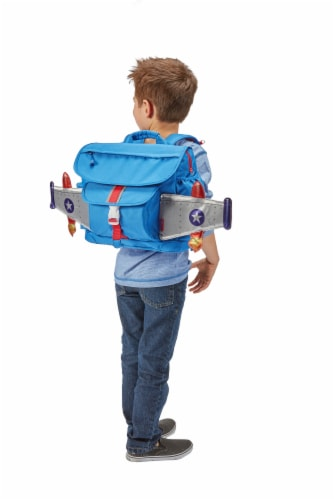 Bixbee Medium Rocketflyer Backpack Perspective: top
