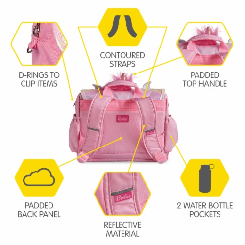 Bixbee Animal Pack Small Unicorn Backpack Perspective: top