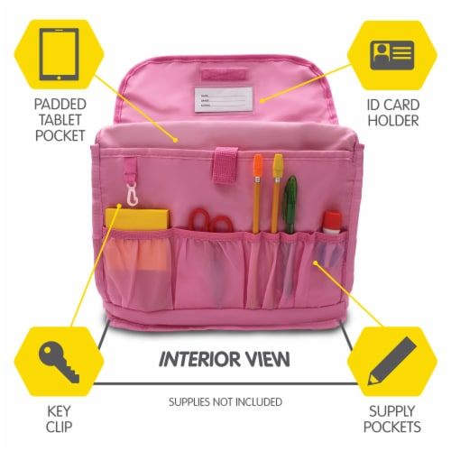 Bixbee Animal Pack Medium Unicorn Backpack Perspective: top