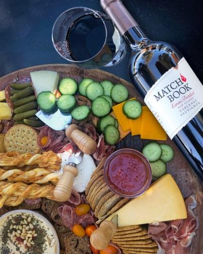 Matchbook Wine Co. Estate Red Gravel Cabernet Sauvignon Perspective: top
