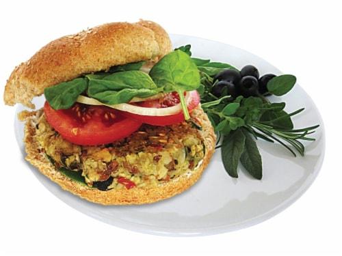 Vegan Burger (9 Patties) - Viva Italiano Perspective: top