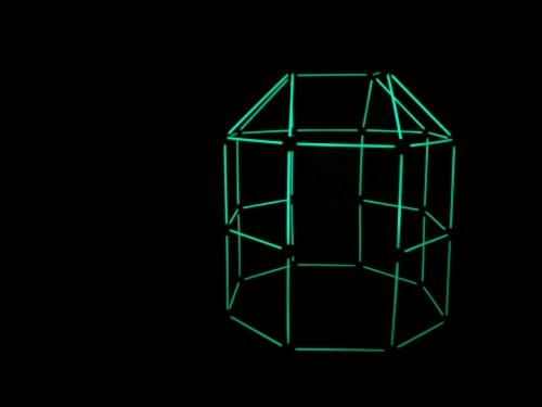 Funphix Glow in The Dark Building Fort Perspective: top
