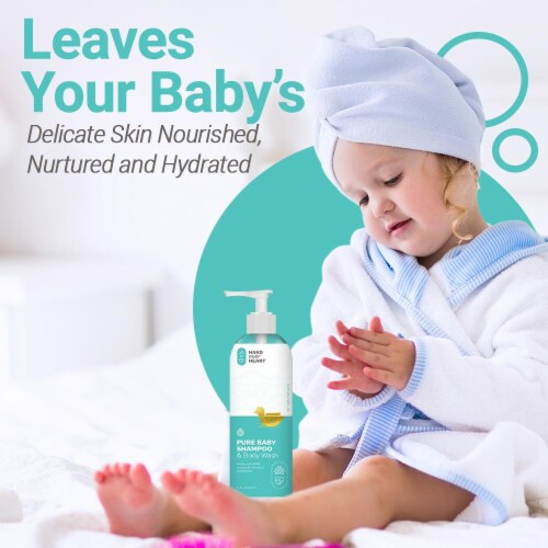 Pure Baby Shampoo & Body Wash Perspective: top