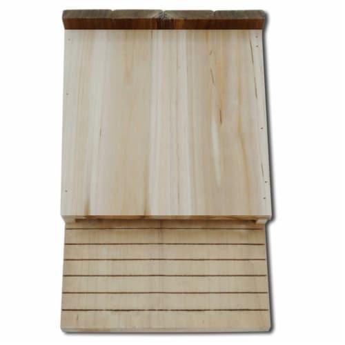 vidaXL Bat Houses 4 pcs 8.7 x4.7 x13.4  Wood Perspective: top