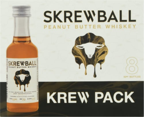 Skrewball Peanut Butter Whiskey Perspective: top