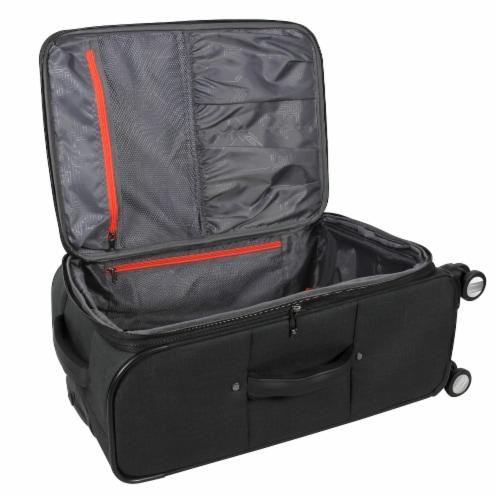 Swisdigital Sion Spinner Luggage - Black Perspective: top