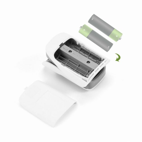 Finger Pulse Oximeter Blood Oxygen SpO2 Monitor PR PI Respiratory Rate Perspective: top