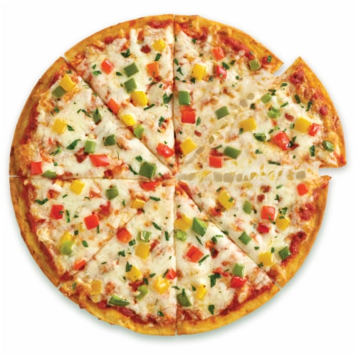 Caulipower Stone-Fired Veggie Cauliflower Crust Pizza Perspective: top