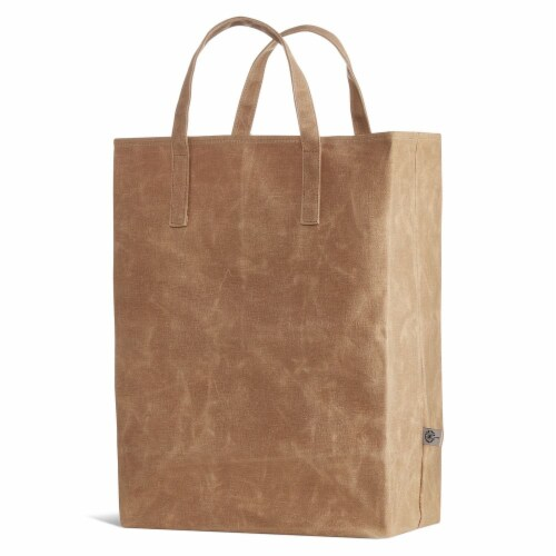 World's Strongest Grocery Bag - Brown Perspective: top