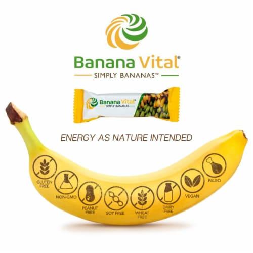 Banana Vital Simply Bananas Fruit Bar Box - 18 Bars Perspective: top