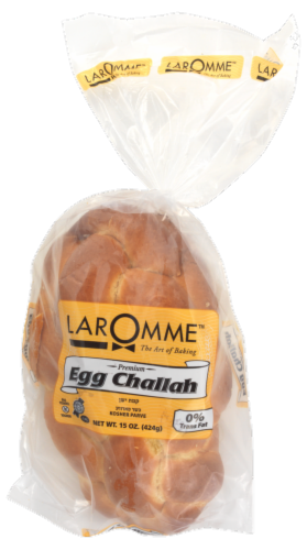 Laromme Braided Egg Challah Bread Perspective: top