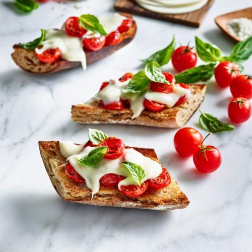 Daiya Mozzarella Style Slices Perspective: top