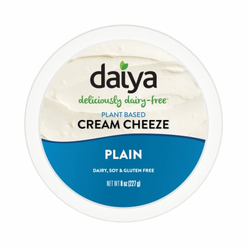 Daiya Dairy Free Plain Cream Cheese Style Spread Perspective: top