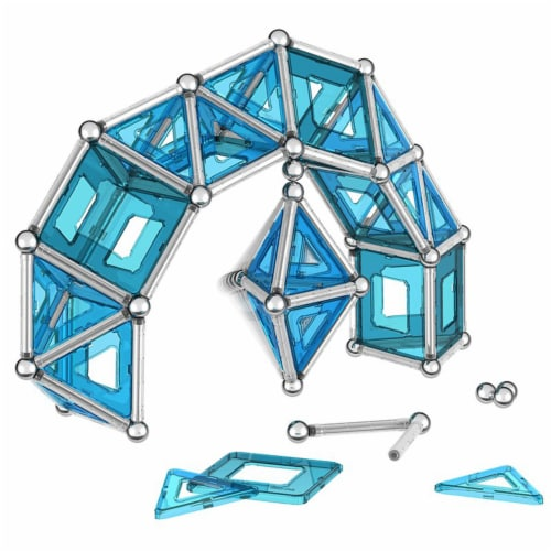 Geomag PRO L Magnetic Construction Set Perspective: top