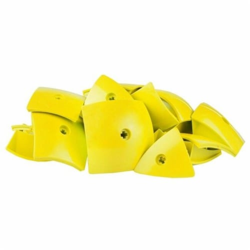 Geomag Kor Egg Covers - Yellow - 26-Piece Creative Magnet Cover Addition Perspective: top