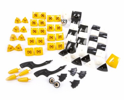 Geomag Kor TAZOO Jelo - 70 Piece Creative Magnet Transformative Playset Toy Perspective: top