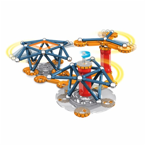Geomag Mechanics Magnetic Motion Set Perspective: top