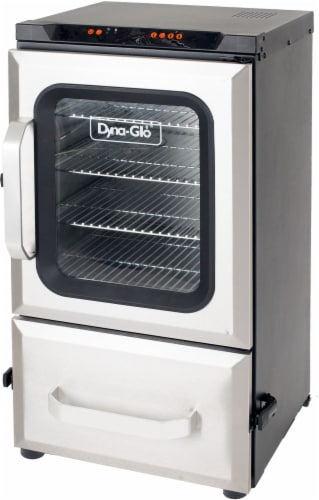 Dyna-Glo Digital Bluetooth Electric Smoker Perspective: top