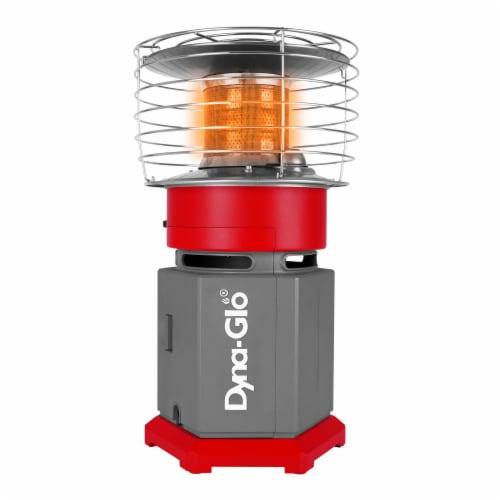 Dyna-Glo 10K BTU HeatAround 360 Heater - Red Perspective: top
