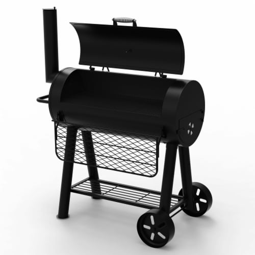 Dyna-Glo Signature Series Heavy-Duty Barrel Charcoal Grill Perspective: top