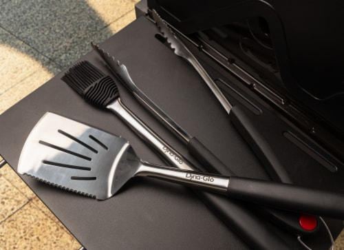 Dyna-Glo Stainless Steel Grill Tool Set Perspective: top