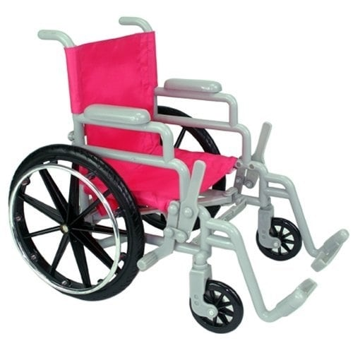 """Be My Girl 18"""" Doll Wheelchair Playset Perspective: top"""