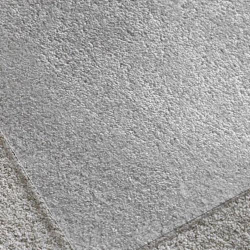 Floortex Solutions FR1115015023ER Clear Floor Office Chair Mat, 60 x 60 Inch Perspective: top