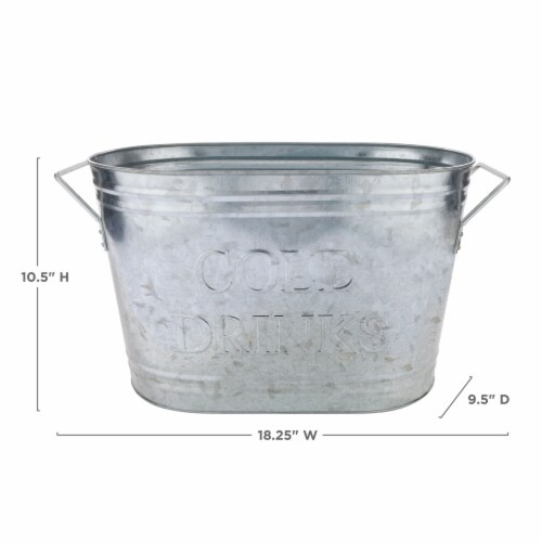 True Fabrications Cold Drinks Ice Bucket Perspective: top
