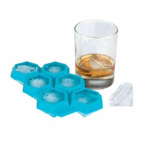 Iced Out Diamond Ice Cube Tray Perspective: top