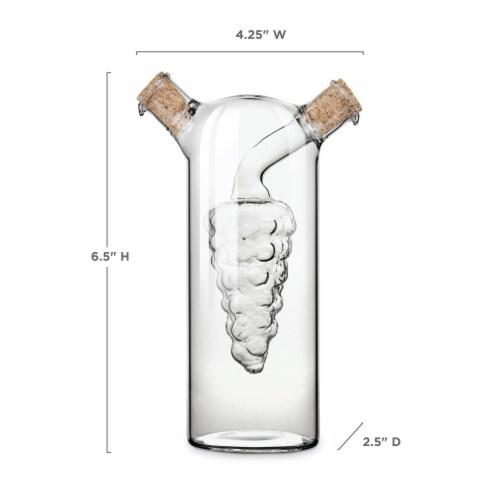 Oil & Vinegar Cruet by Twine® Perspective: top