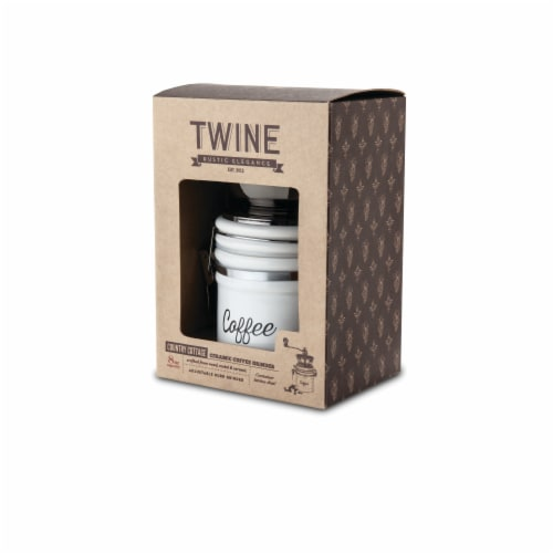 Ceramic Coffee Grinder by Twine® Perspective: top