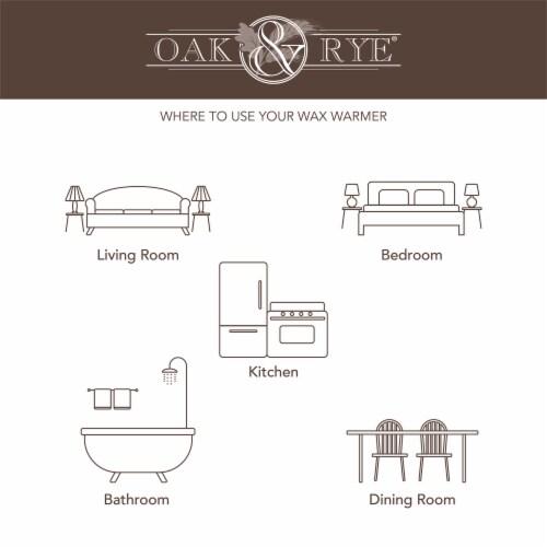 Oak & Rye Petra Full Size Wax Warmer Perspective: top