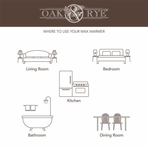 Oak & Rye Sandalwood Vanilla Scented Wax Cubes Perspective: top