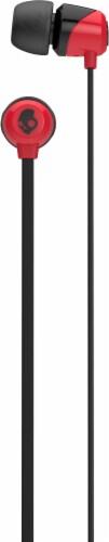 Skullcandy Jib In-Ear Headphones - Red/Black Perspective: top