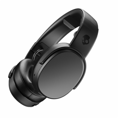 Skullcandy Crusher Wireless Bluetooth Headphones with Mic and Remote - Black Perspective: top