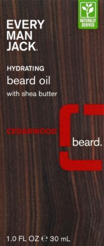 Every Man Jack Cedarwood Hydrating Beard Oil Perspective: top
