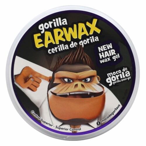 Moco De Gorila Earwax Hair Gel Perspective: top