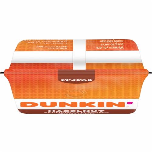 Dunkin' Donuts Hazelnut Ground Coffee Perspective: top