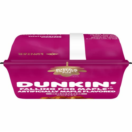 Dunkin' Falling for Maple Ground Coffee Perspective: top