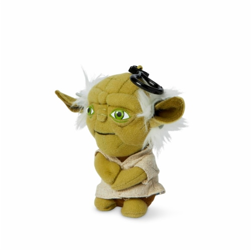 "Star Wars Mini 4"" Talking Plush Toy Clip On - Yoda Perspective: top"