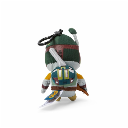 Star Wars Mini Talking Plush Toy Clip On - Boba Fett Perspective: top