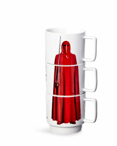 Star Wars 11oz Stacking Mugs - Darth Vader, Imperial Guard, and Stormtrooper Perspective: top